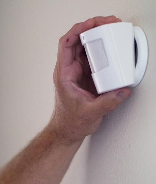 Motion Detector DIY Security System Installation