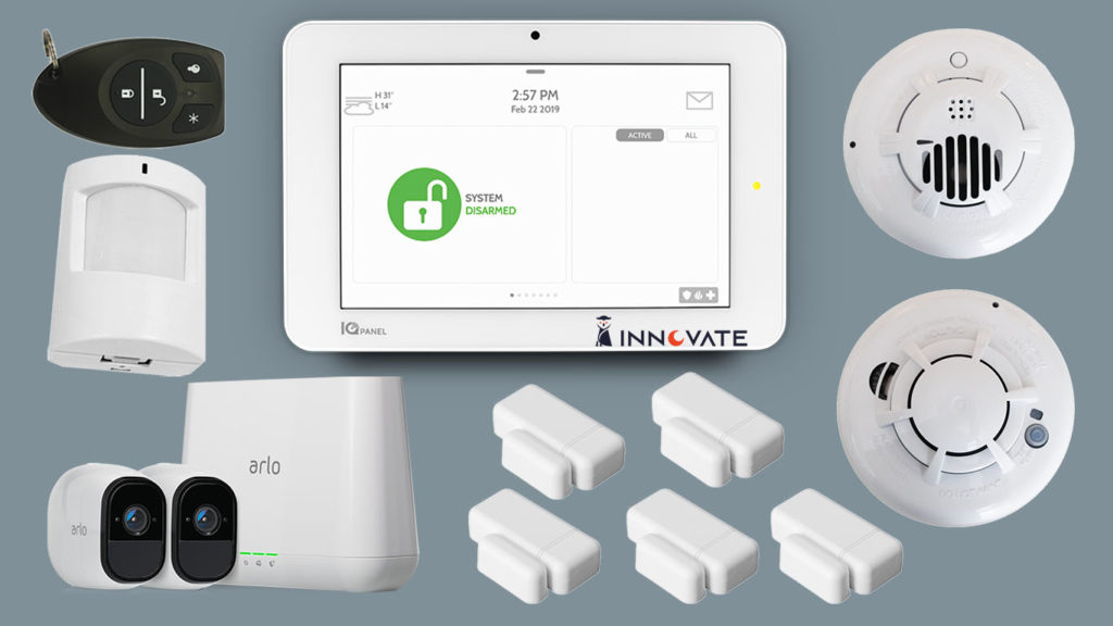 Premium smart home security system